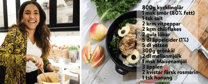 Markiz kycklinggryta  – på max 500 kcal