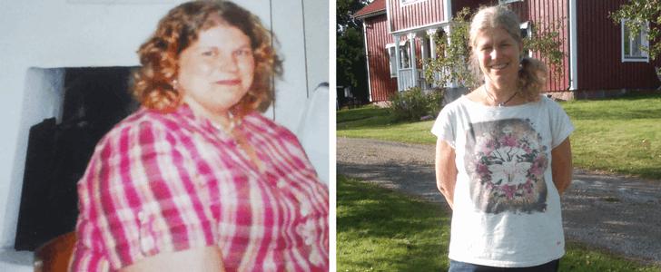 Så har Camilla gått ner 32 kilo – på nio månader