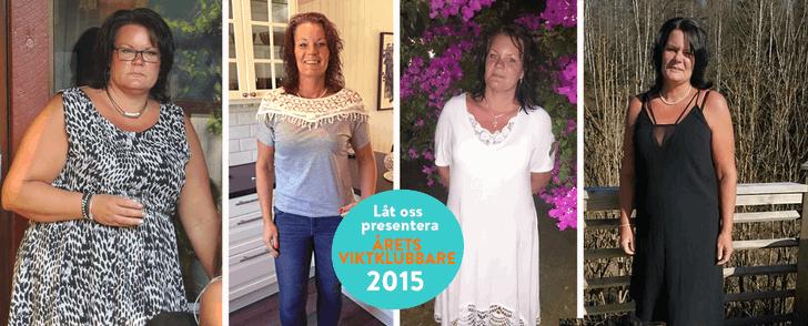 Låt oss presentera Årets viktklubbare 2015