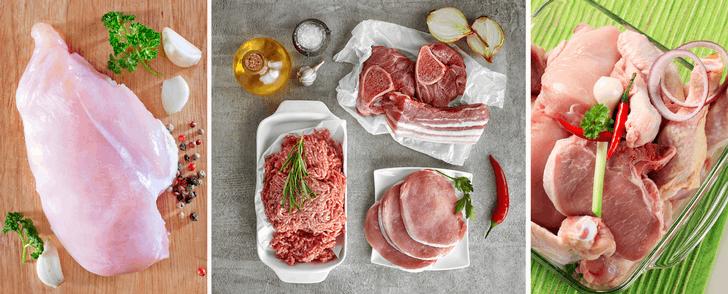 Kaloritabell: Kött och fågel