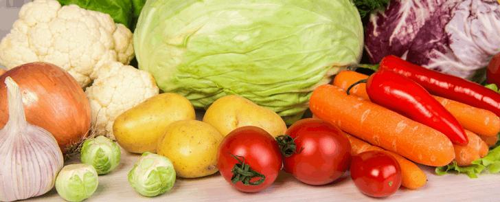 Kaloritabell: Grönsaker