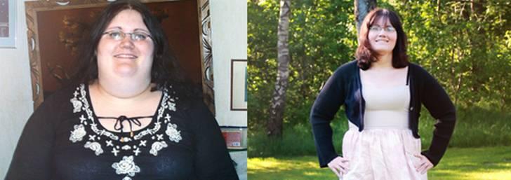 Började räkna kalorier och gick ner i vikt
