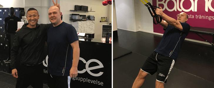Mikael har gått ner över 11 kilo – på fyra veckor
