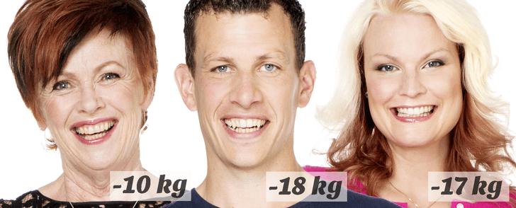 Så fick vi hjälp att gå ner i vikt