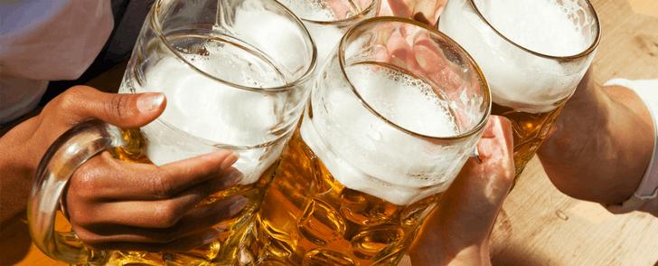Kolhydrattabell för alkohol