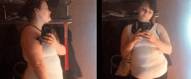 Nu väljer hon träning  – framför chipspåsen