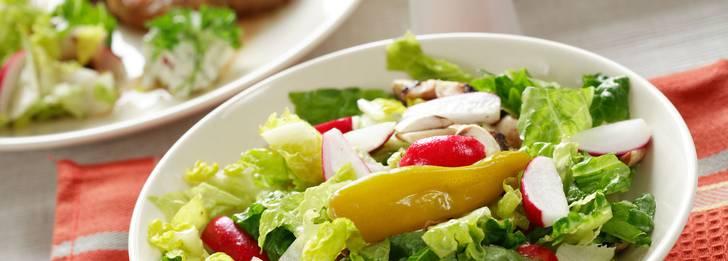 Hur stor bör en portion vara om man vill gå ner i vikt?