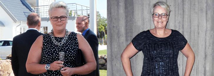 Intresset hjälpte henne oväntat att gå ner i vikt
