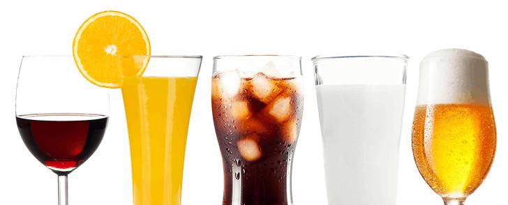 Kaloritabell: Dryck