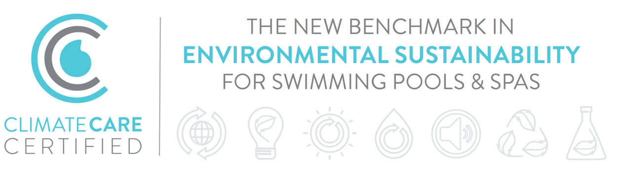 The new benchmark in environmental sustainability for swimming pools and spas.
