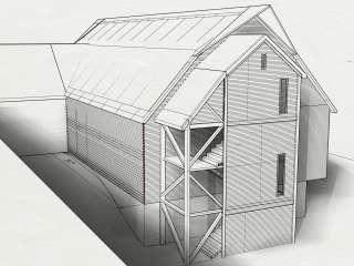 Locust Manor Barn Rendering
