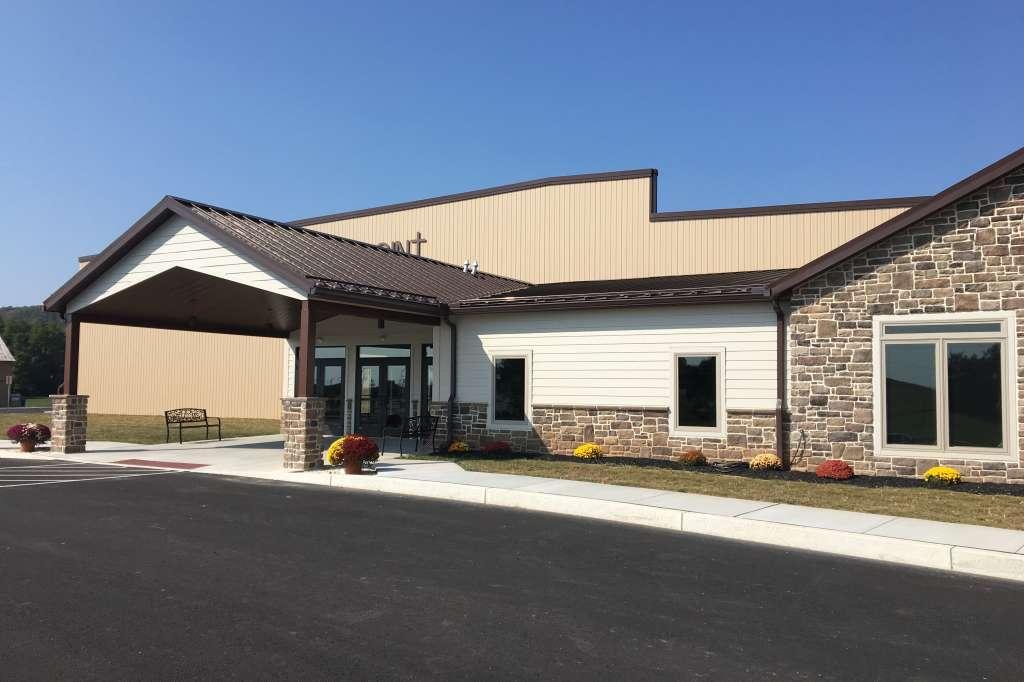 High Point Community Church Main Entrance