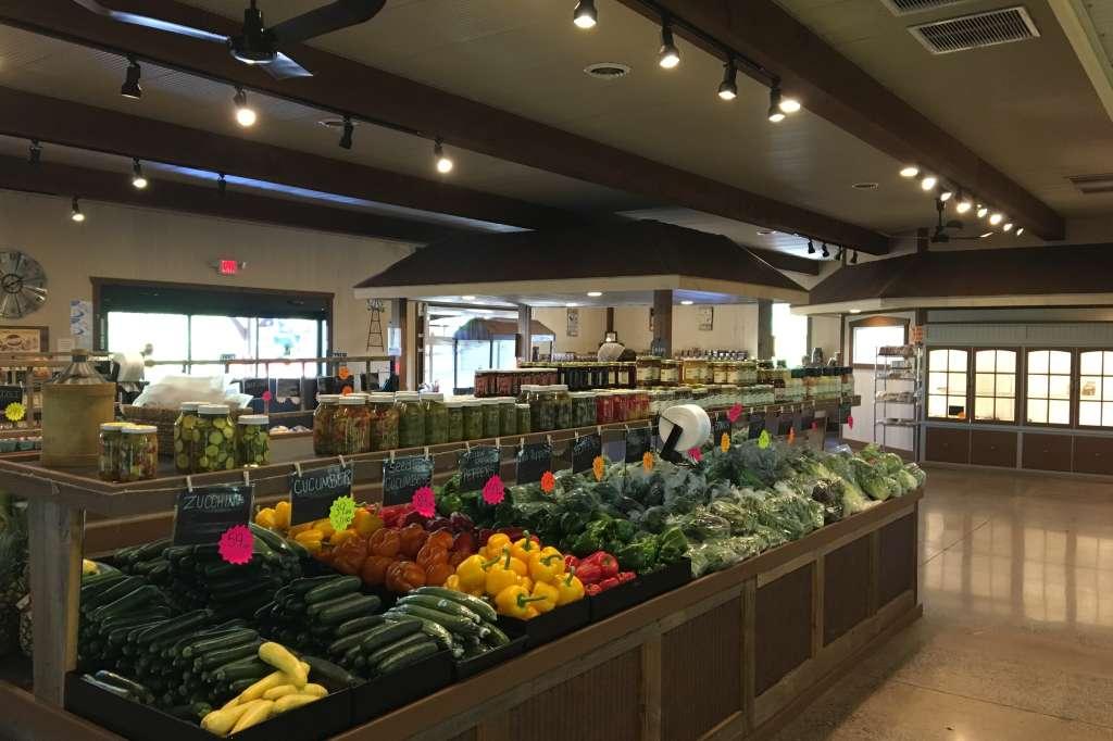 Interior Farmers Market