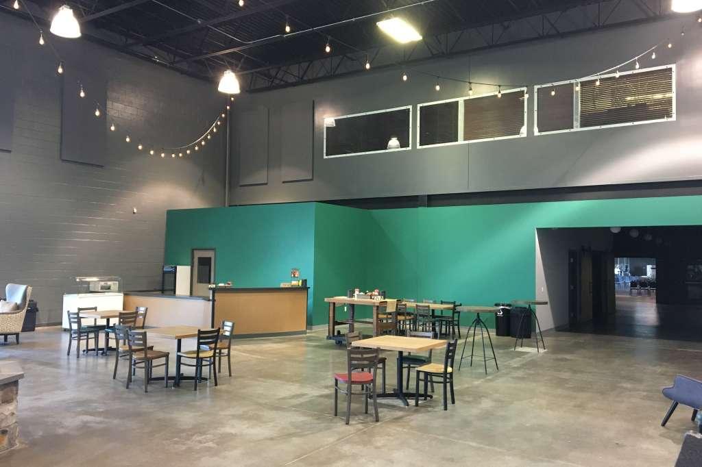 Cafe/Lounge With Mezzanine