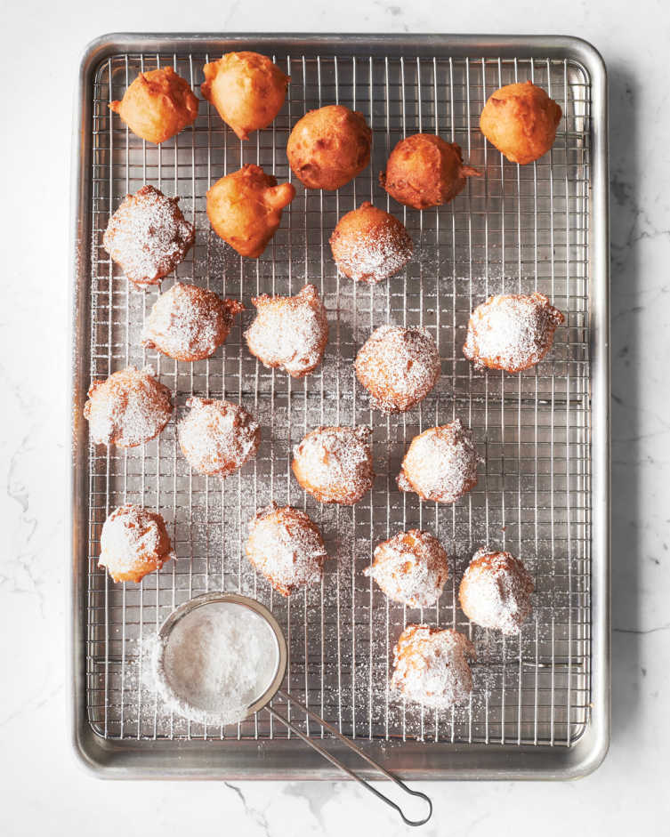 Sweet Apple Fritters Recipe