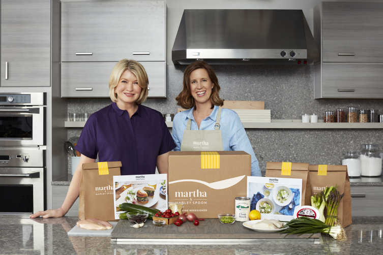 Martha and Marley Spoon Recipes from Martha Stewart