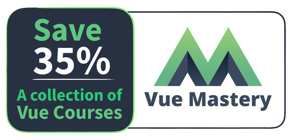 Save 35% on an annual subscription to VueMastery.com