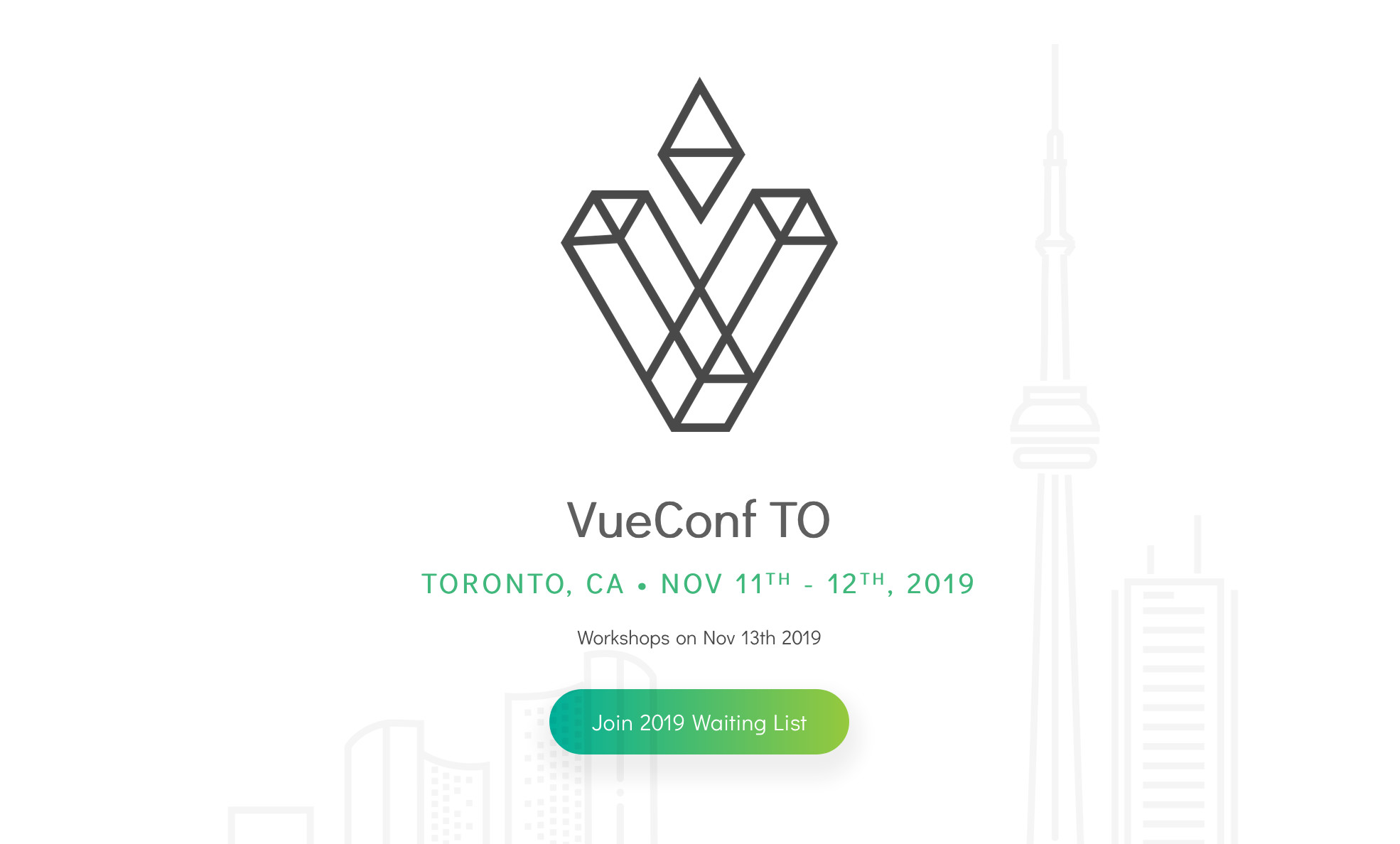 VueConfTO 2019 - Call For Papers