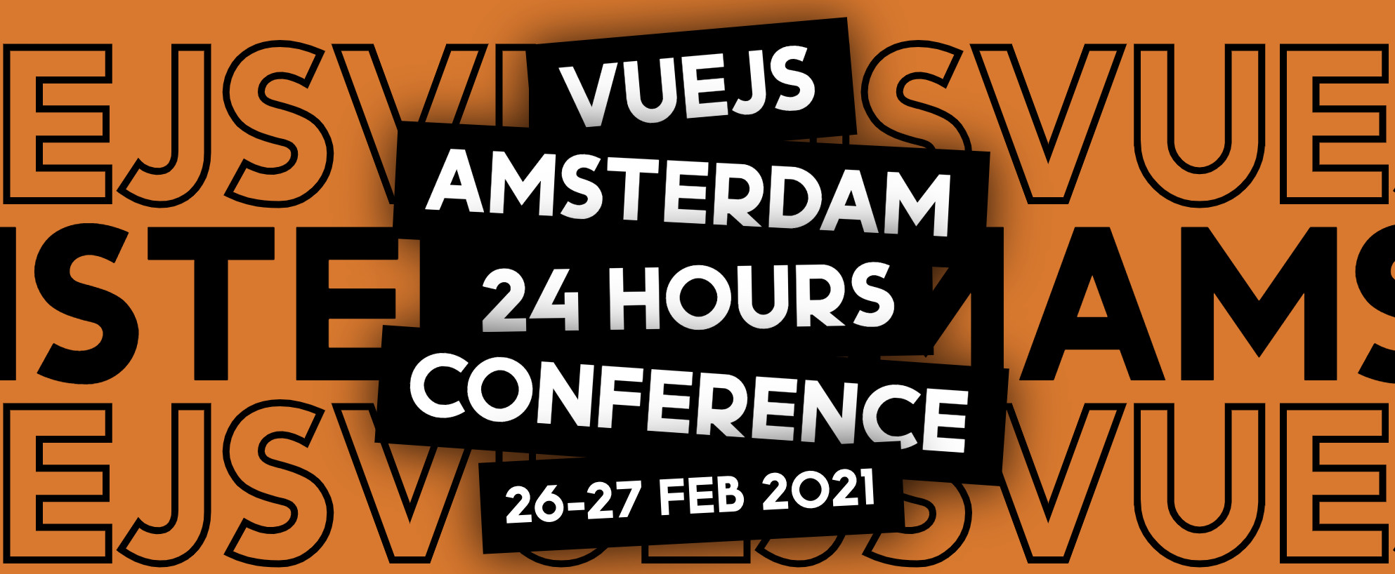 Free Vuejs Amsterdam 24 hour Online Conference