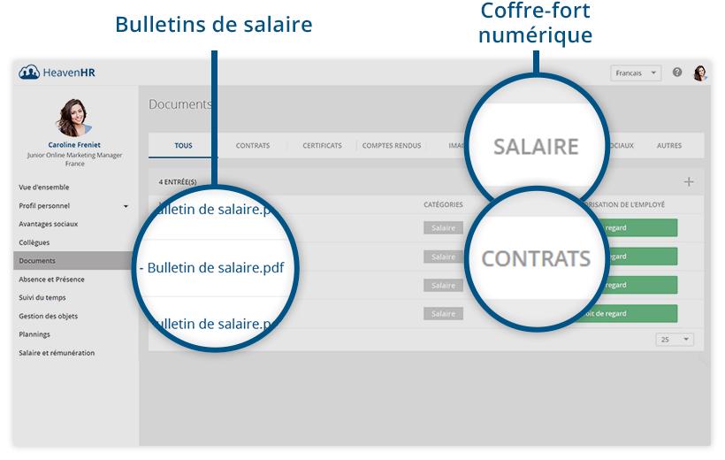 La gestion de la paie avec le logiciel RH - HeavenHR
