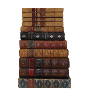 Leather bound Vintage Books