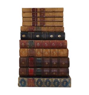 Leather bound Vintage Books