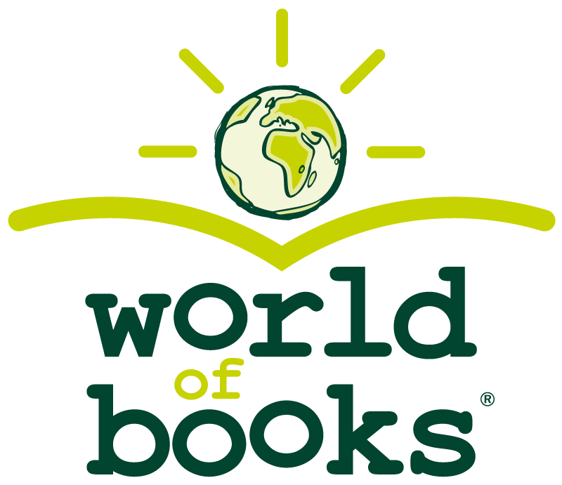 World of Books Logo (Stacked) PNG
