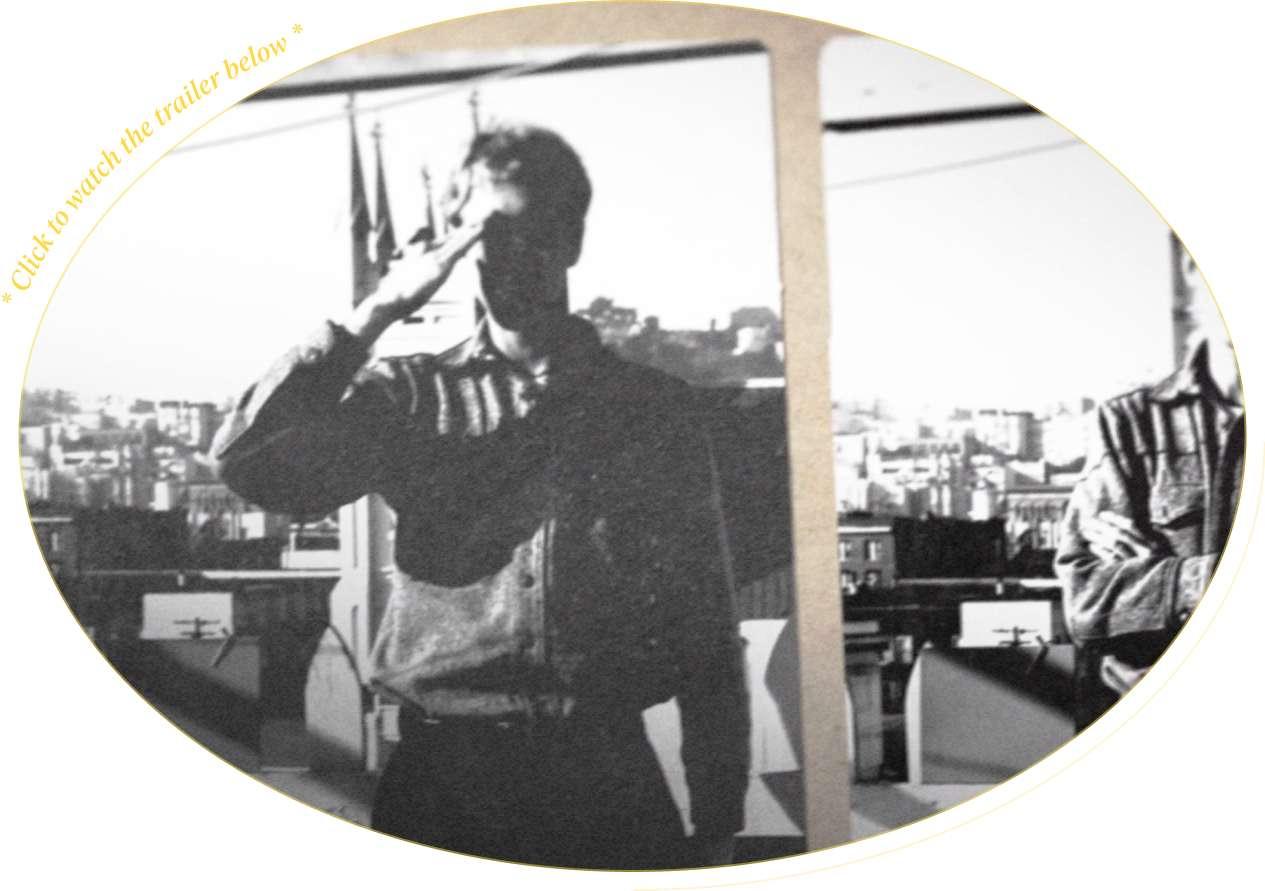 Stewart Brand saluting image