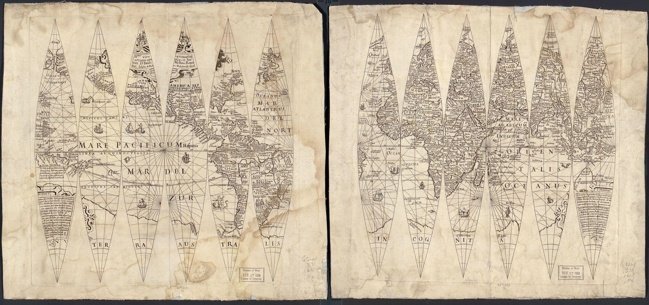 terrestrial-globe-gores