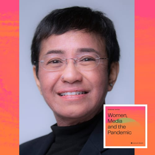Watch: Reporting Barriers During COVID-19 with Maria Ressa