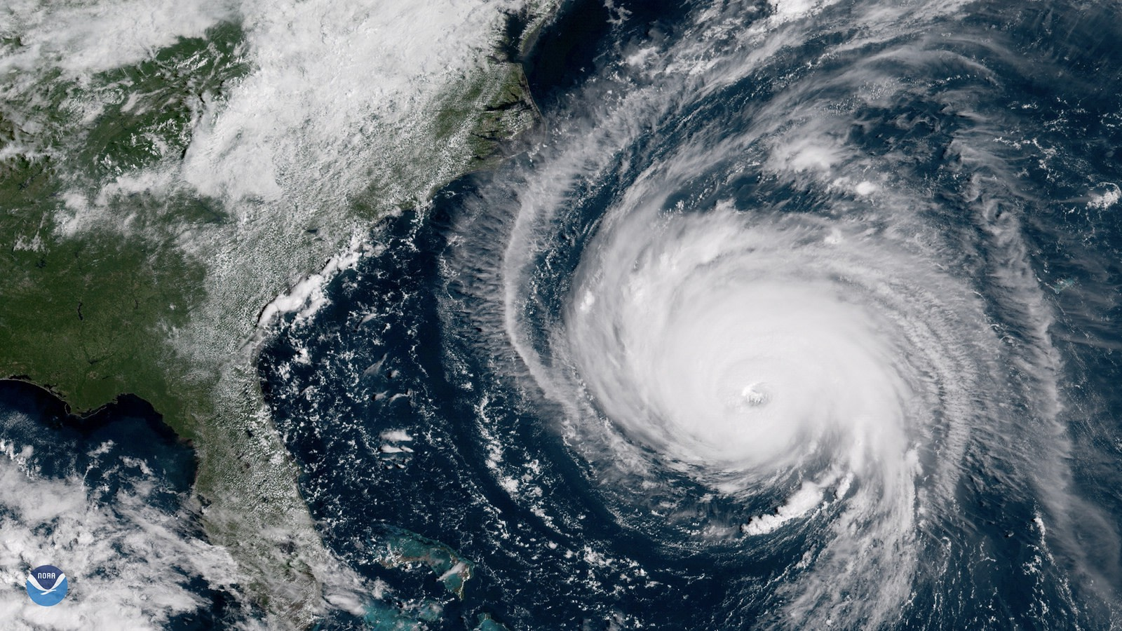 """Florence off the East Coast"" by Stuart Rankin (CC BY-NC 2.0)"