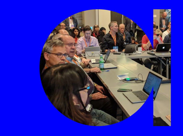 Happy birthday, CredWeb! Here's us presenting on our work at the W3C Technical Plenary / Advisory Committee meeting in Burlingame, CA on November 8, 2017