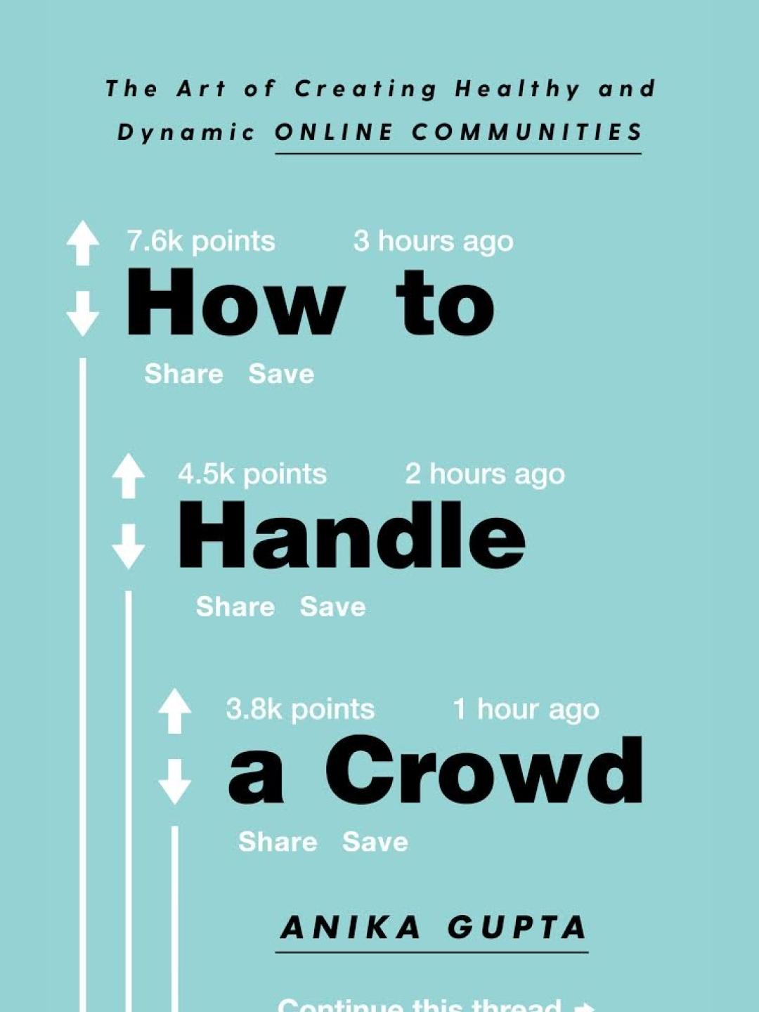 Book Talk: How to Handle a Crowd with author Anika Gupta