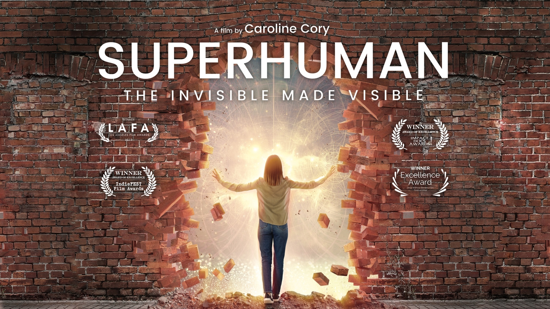 Caroline Cory's New Movie, Superhuman: The Invisible Made Visible