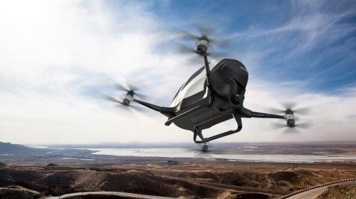 44米,凈重200公斤,載重100公斤,能搭乘一位乘客,續航時間23分鐘,巡航圖片