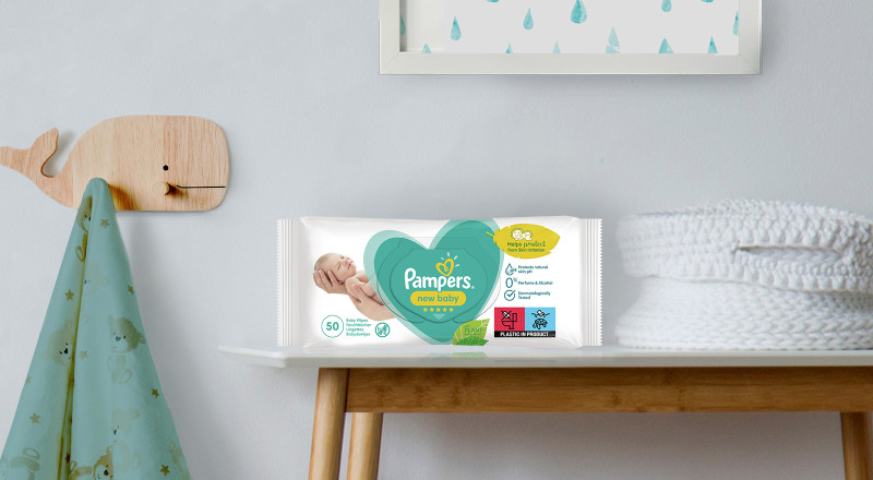 Lingettes Pampers® New baby™