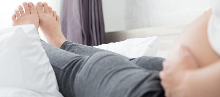 Pieds enflés pendant la grossesse