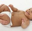Le massage d'un bébé