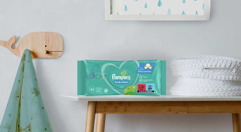 Pampers® Fresh Clean lingettes