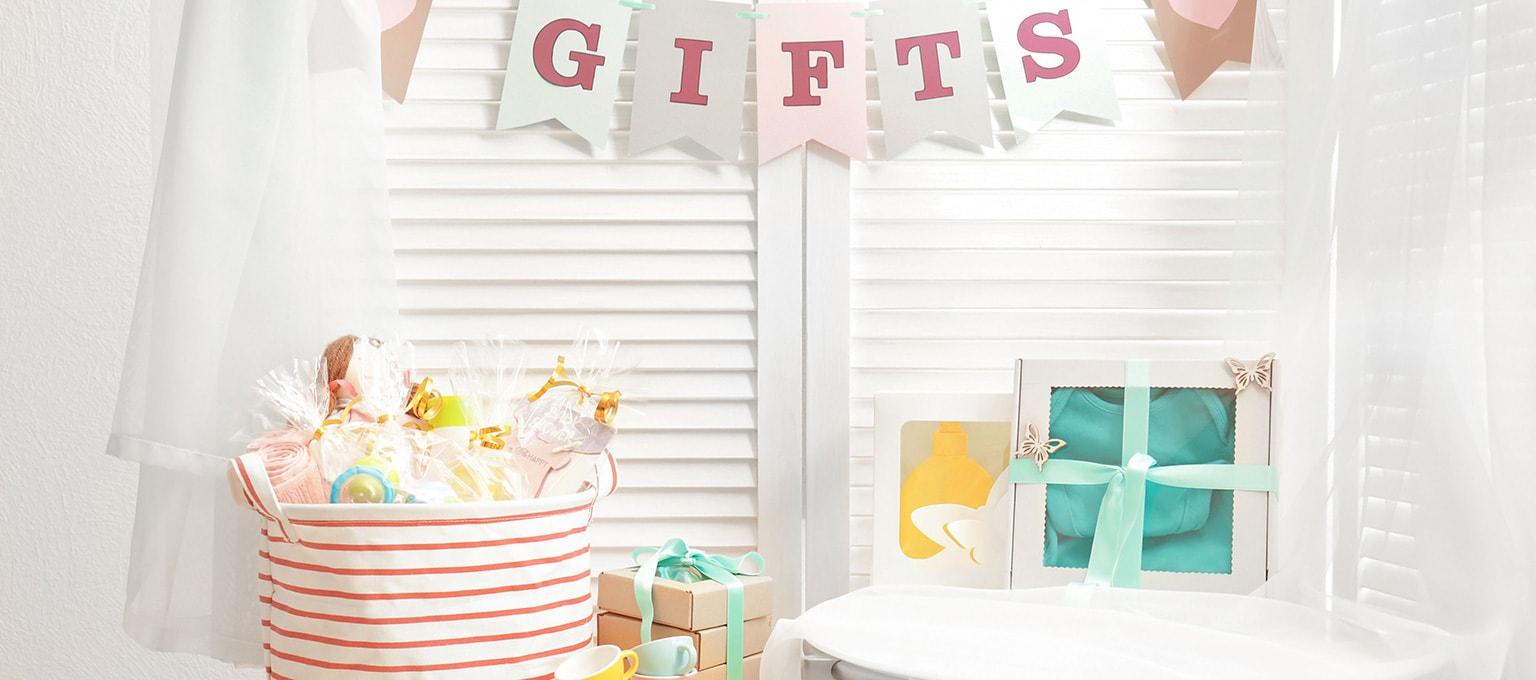 Idées de cadeaux pour une baby shower