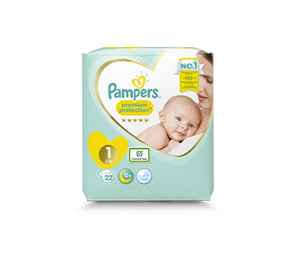 pampers premium protection couches