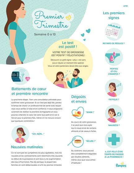 Les différentes étapes de la grossesse