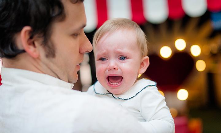 La peur de l'abandon chez un bébé
