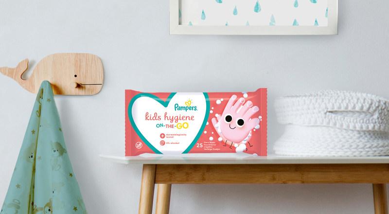 Pampers® Kids Hygiene on-the-go lingettes