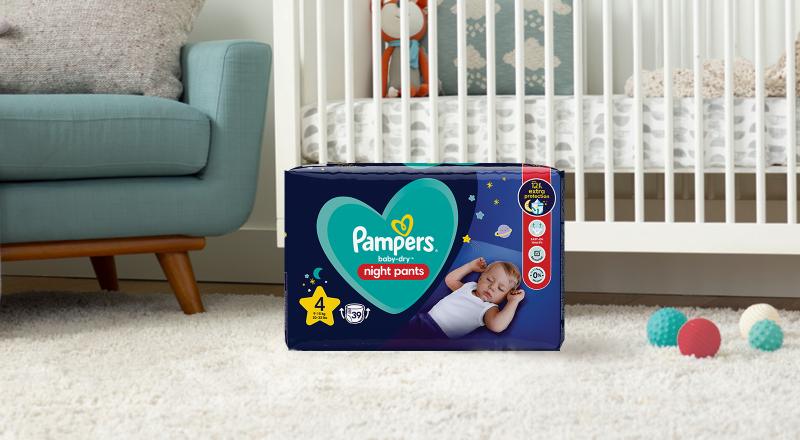 Pampers® baby-dry™ Night Pants