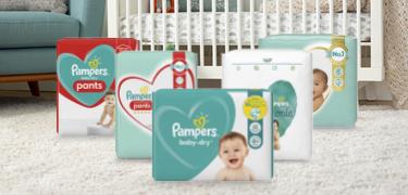Bon de reduction Pampers -  les couches ou les couches-culottes Pampers®