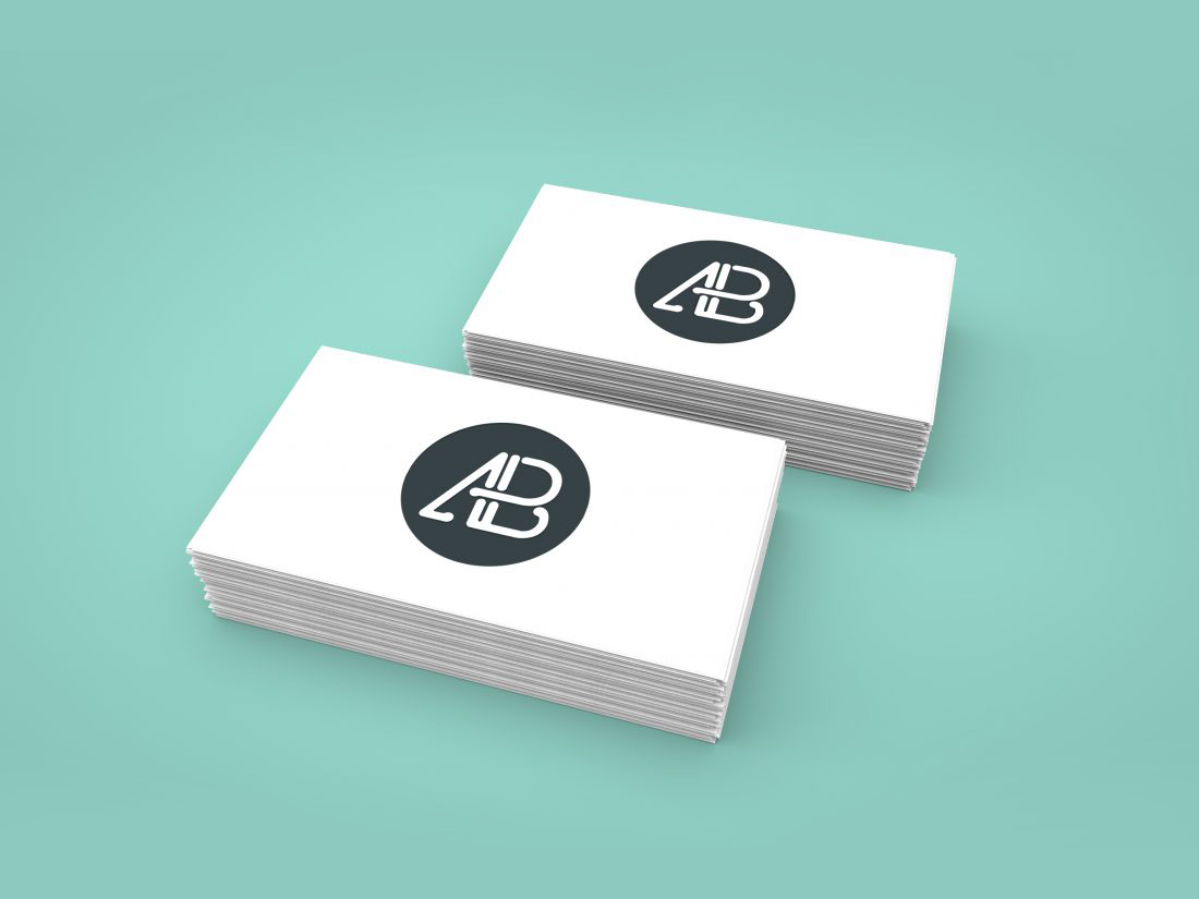 Business Card Mockup Vol.1 by Anthony Boyd Graphics