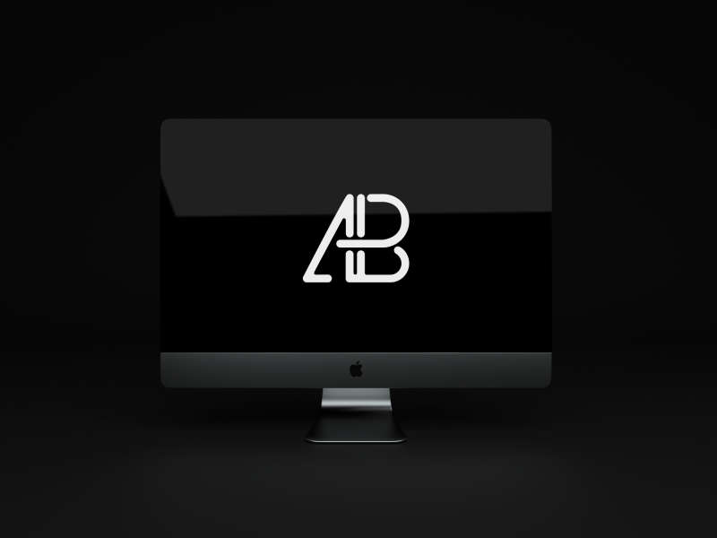 Animated iMac Pro PSD Mockup by Anthony Boyd Graphics