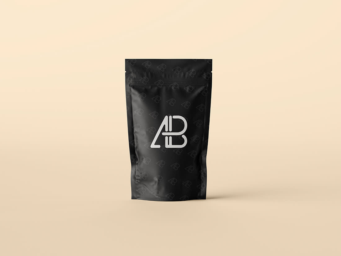 Pouch Bag Packaging Mockup by Anthony Boyd Graphics