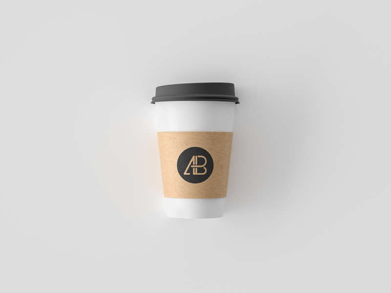 Simple Coffee Cup Mockup by Anthony Boyd Graphics